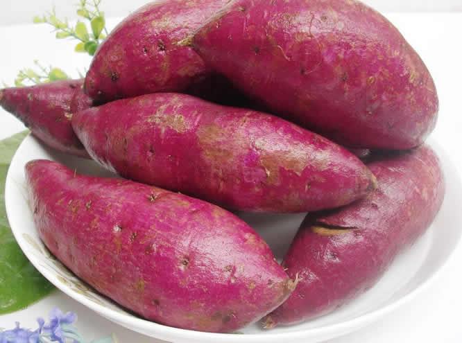 紫红薯好处多
